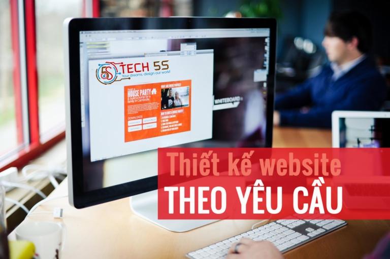 Thiết Kế Website Theo Yêu Cầu Của Quý Khách