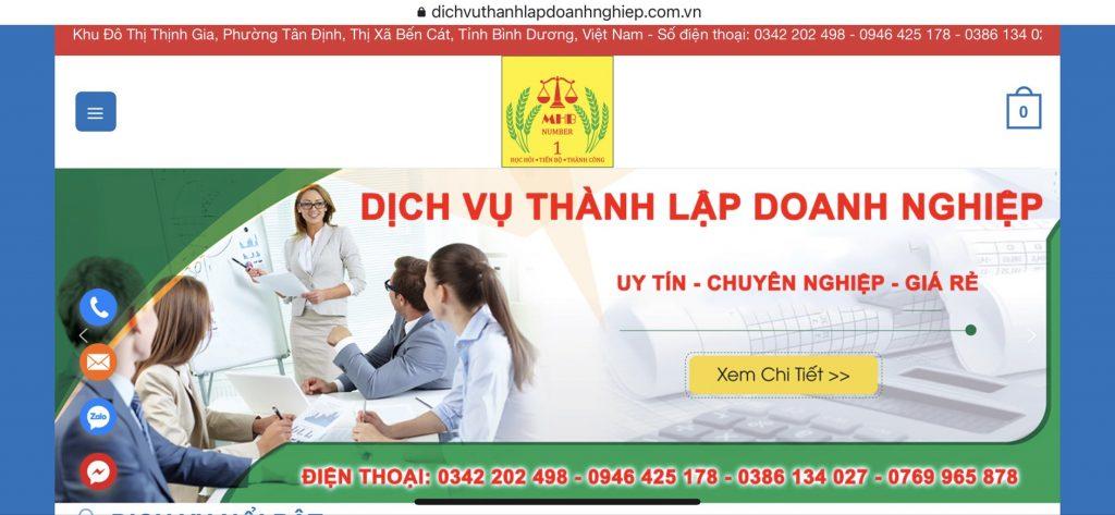 HÌnh Ảnh Trang Website